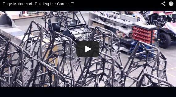 Building the Comet 'R'