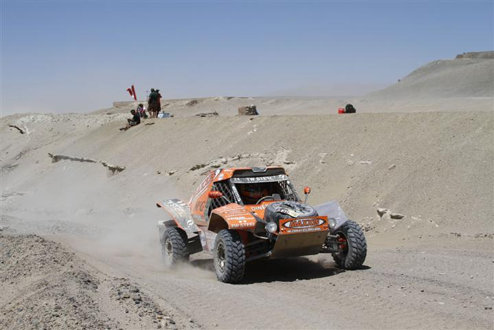Rage at the Dakar